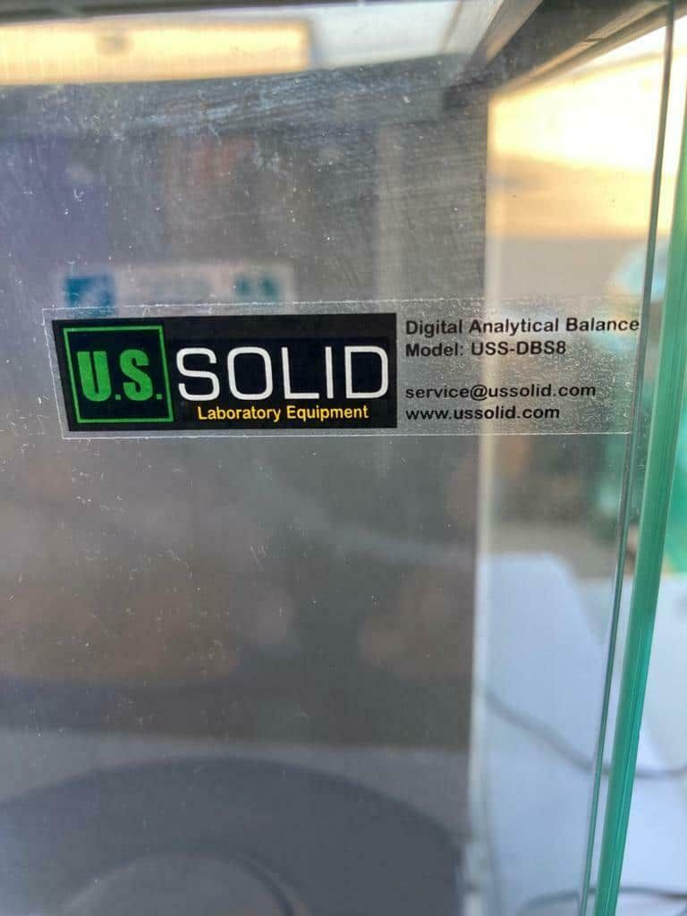 US Solid Digital Analytical Balance USS-DBS8