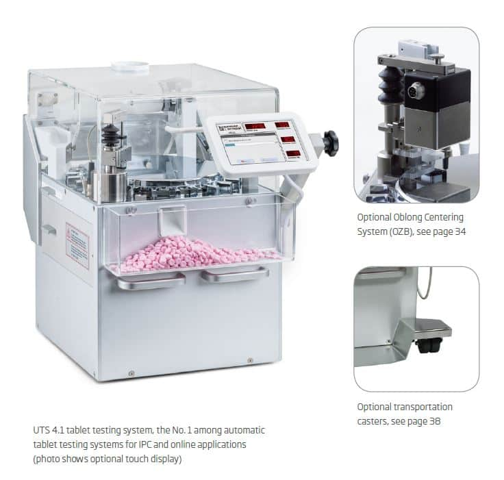UTS 4.1 - Automatic Tablet Testing System