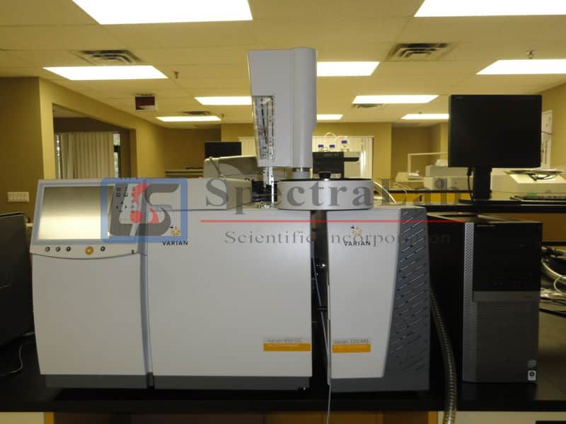 Varian 450-GC with Varian 220MSD and CP 8400, GC/MS