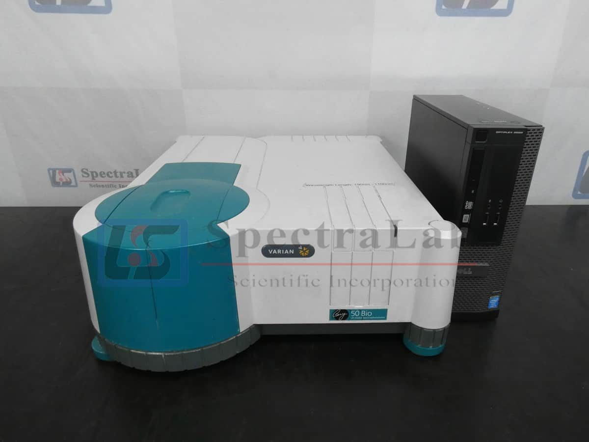 Varian Cary 50 Bio UV-Vis Spectrophotometer