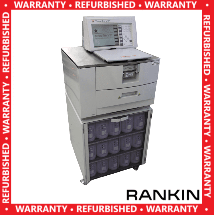 ~$606/mo - Sakura Tissue-Tek VIP 5 Tissue Processor | Rankin 1-Year Warranty