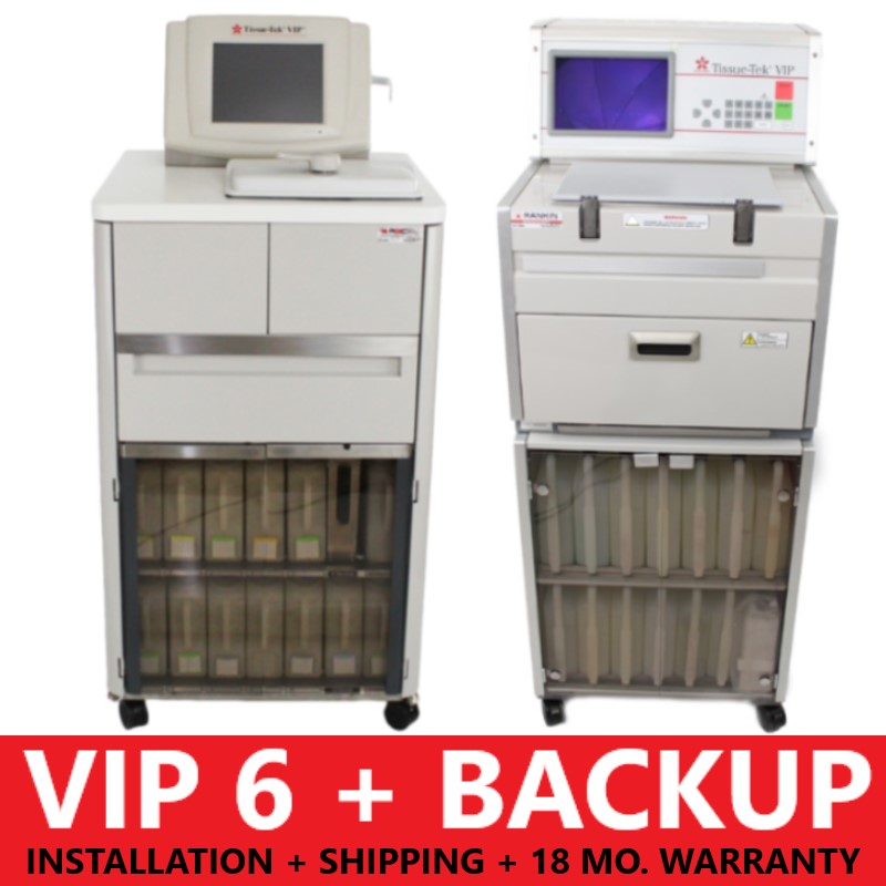 PACKAGE: VIP 6 + Backup Processor + Installation + Shipping + 18-Month Warranty