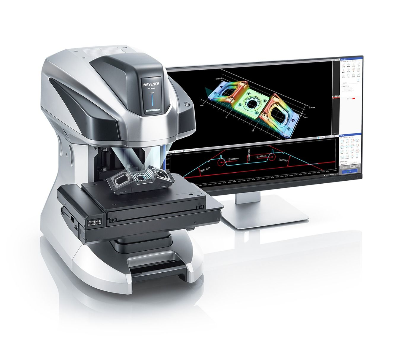 KEYENCE NEW Wide-Area 3D Measurement System VR-5000 Series