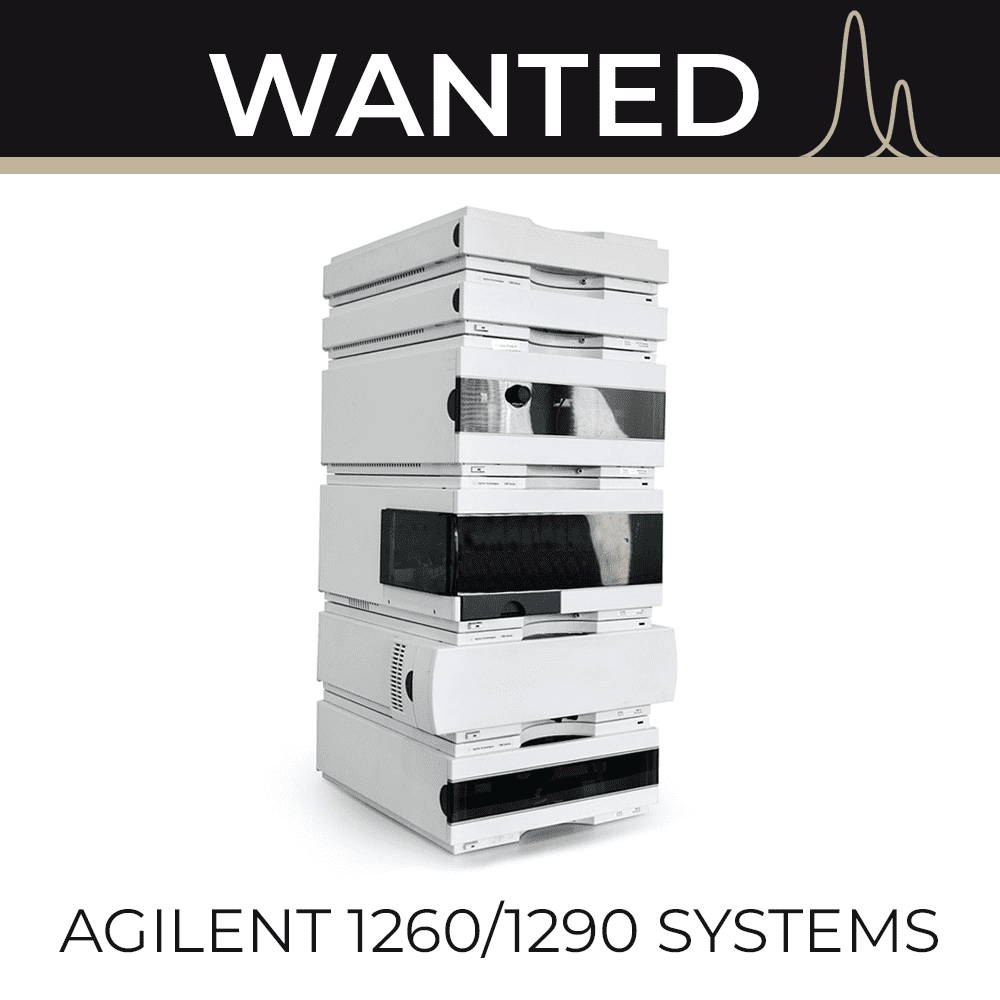 WANTED - 1260/1290 Systems
