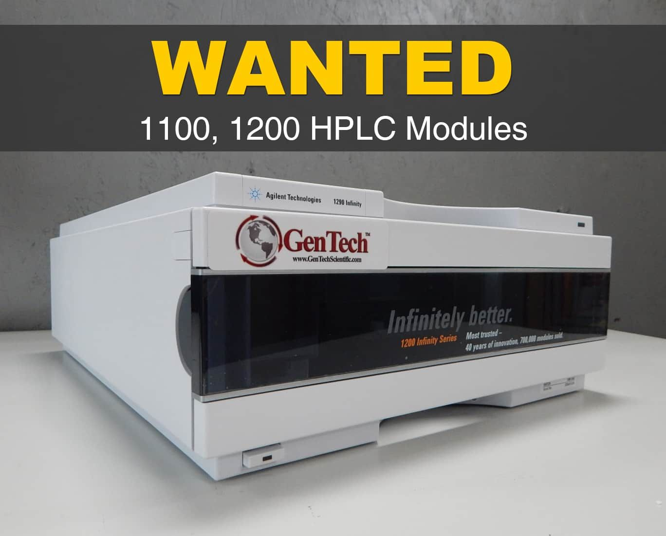 WANTED: HPLC Modules