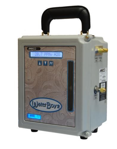 MEECO, Inc Waterboy 2+ is Micro-Processor Based Portable Moisture Analyzer