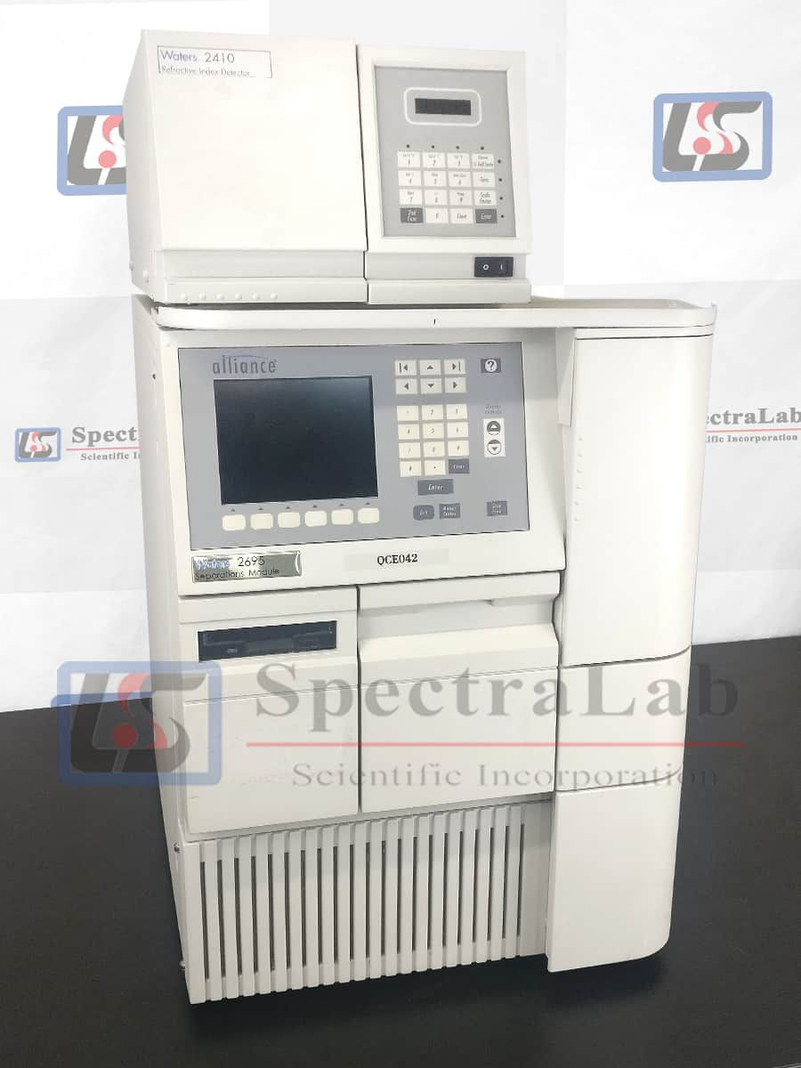 Waters Alliance 2690/ 2695 HPLC system with Waters 2410 RID