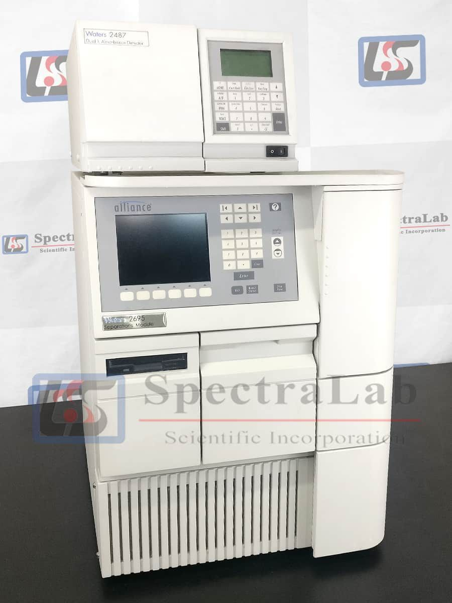 Waters Alliance 2695 HPLC system with Waters 2487 UV Detector