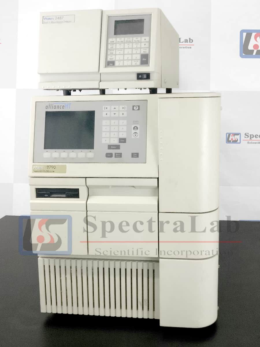 Waters AllianceHT 2790/ 2795 HPLC System with Waters 2487 UV Detector