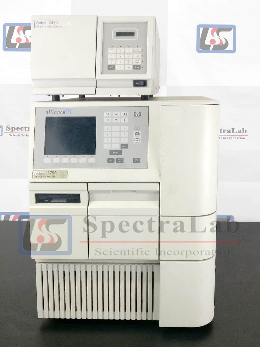 Waters AllianceHT 2790/ 2795 HPLC System with Waters 2410 RI Detector