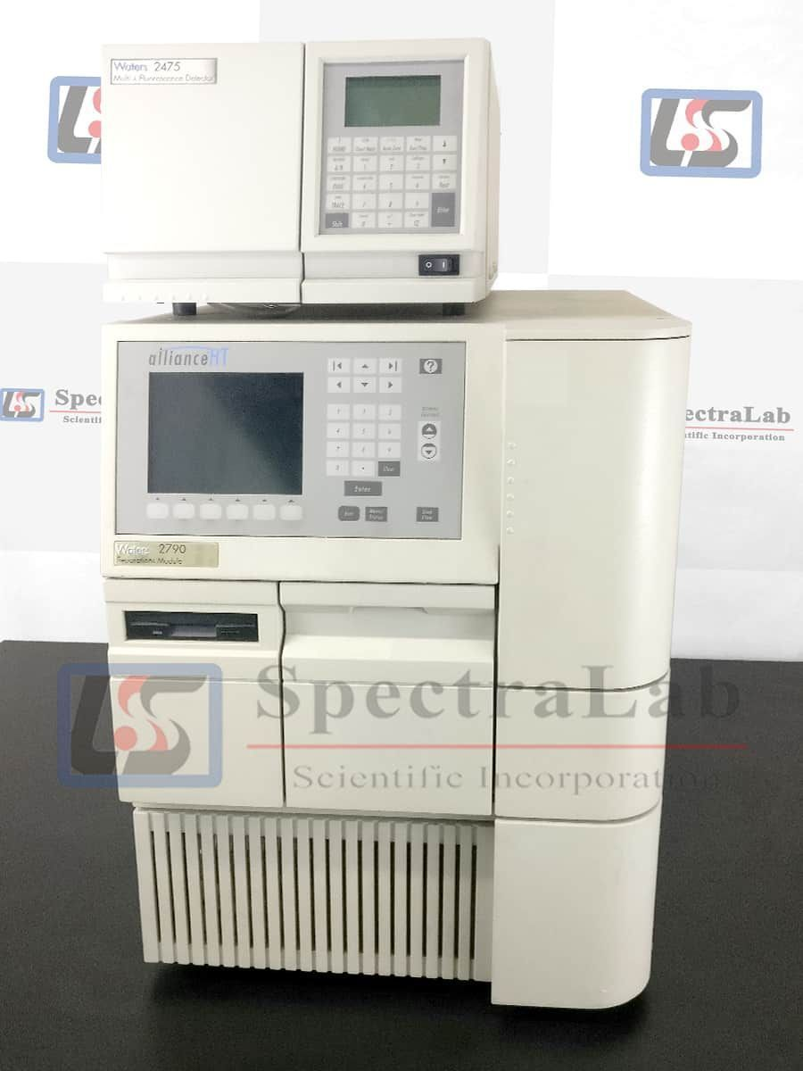 Waters Alliance HT 2790/2795 HPLC System with Waters 2475 Multi-Wavelength Detector
