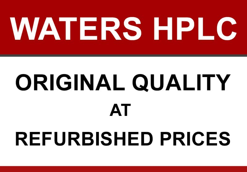 Quality Refurbished Waters HPLC (PDA) Systems