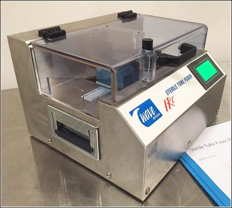 "Wave Biotech Sterile 1/4"" Tube Fuser STF IRC w WARRANTY"