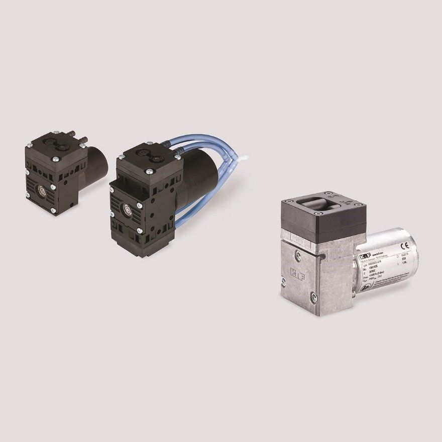 KNF Launches Two New Compact, High-Performance Pumps
