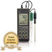 Hanna Instruments HI 9126 Digital, Portable pH Meter
