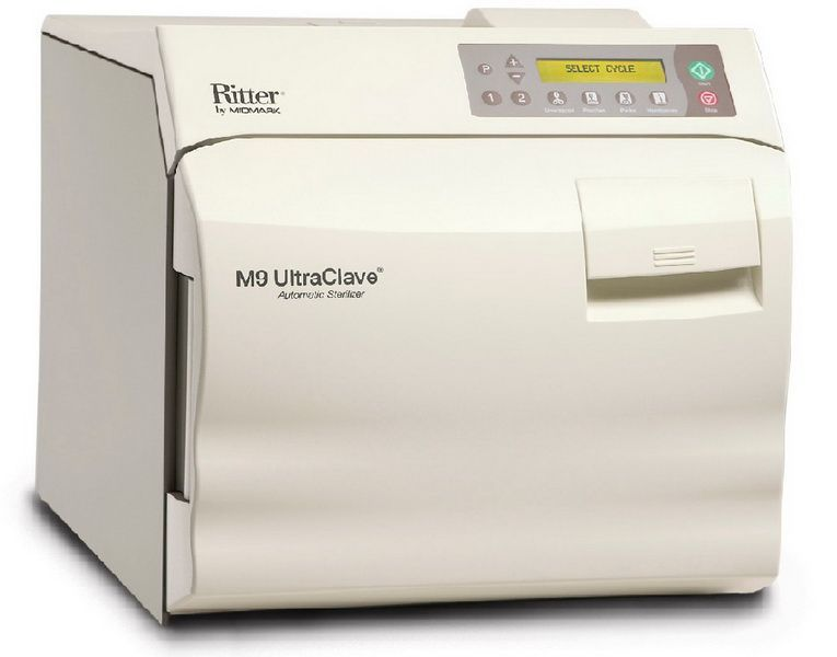 Midmark Ritter M9 Bench-model Autoclave Sterilizer