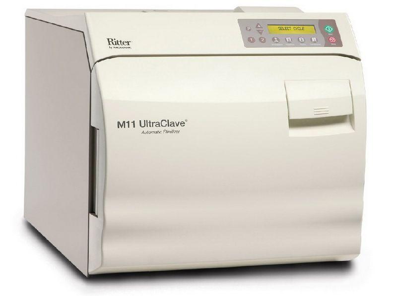Midmark Ritter M11 Bench-model Autoclave Sterilizer