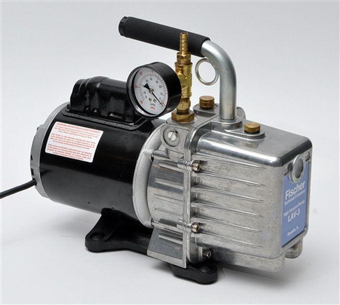 Fischer LAV3G with gauge Rotary-type Vacuum Pump
