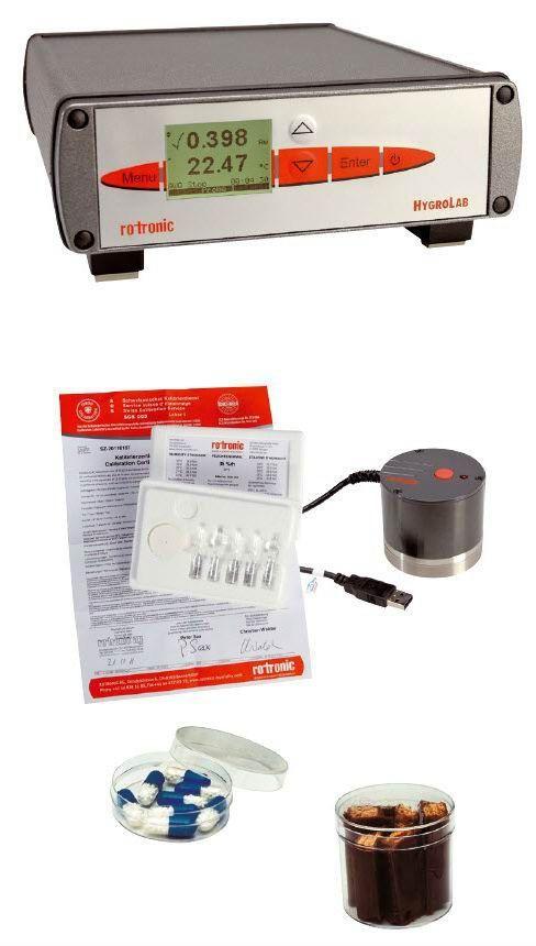 Rotronic HygroLab C1 Set Bench-model Water Activity Meter
