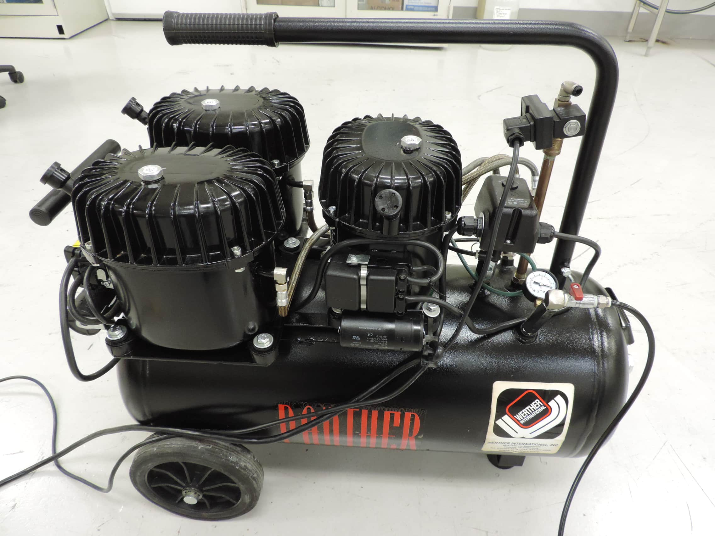Werther™Panther® P150/50AL 220V Ultraquiet Laboratory Air Compressor