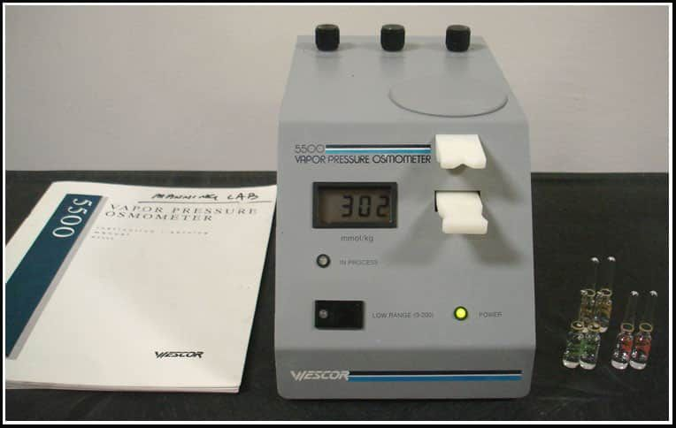 Wescor Vapor Pressure Osmometer Vapro 5500 w WARRANTY