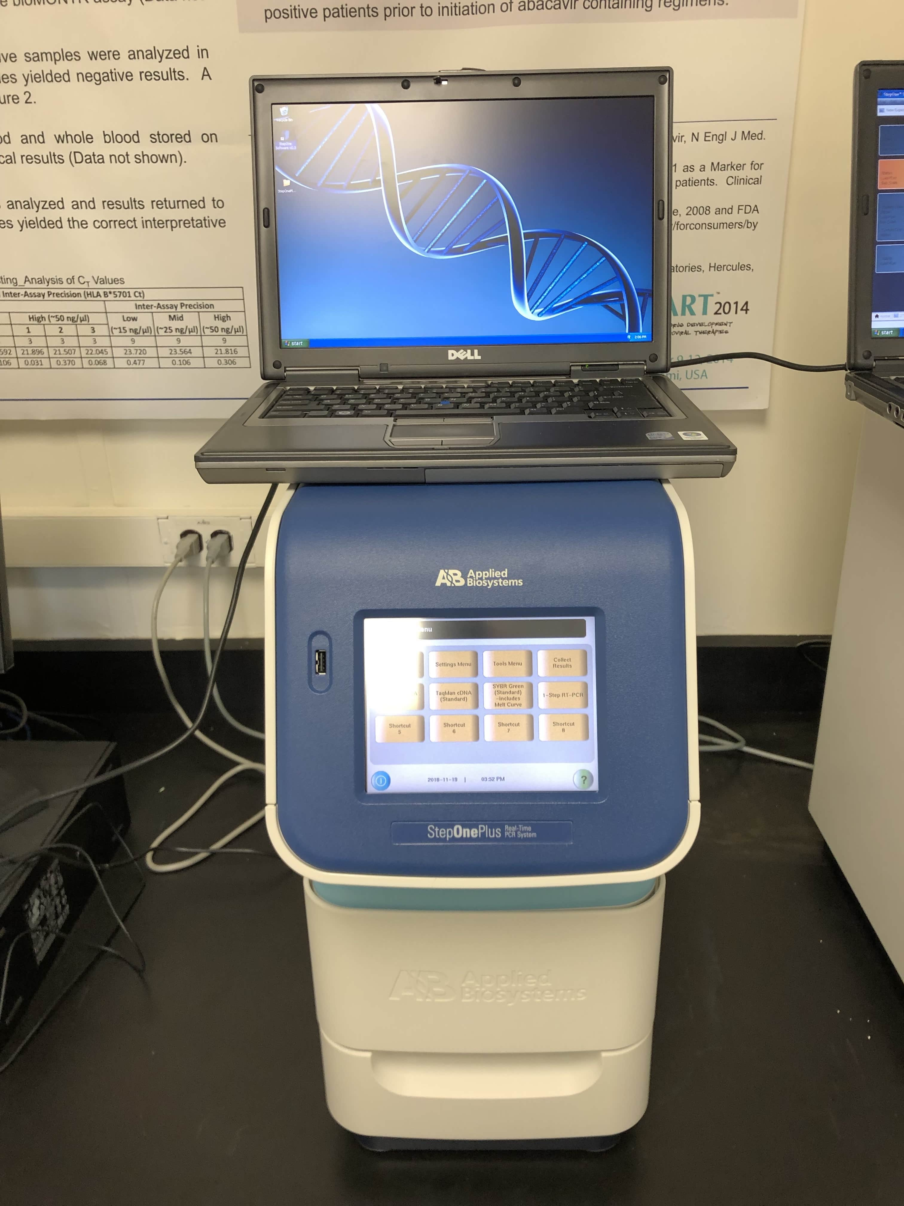 ABI StepOne Plus Real-Time PCR System Year 2011-New Performance Testing-Original Packaging!