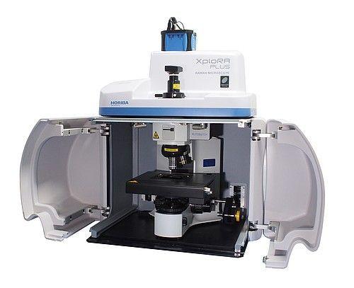 HORIBA XploRA Plus multi-sample, multi-user Raman microscope
