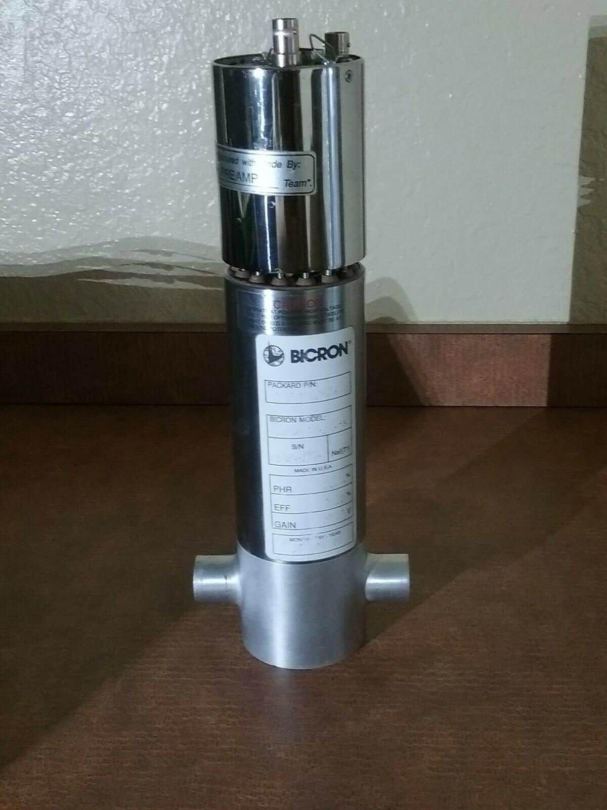 Bicron Electronics 2MSW2/2-X Gamma Detector 0100682 d6