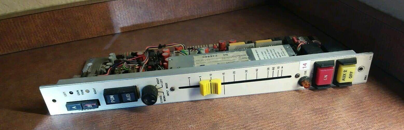 Penny & Giles 1122/c 45-103B CardBoard Test Circuit Fader BMX D21009 assy 95D9
