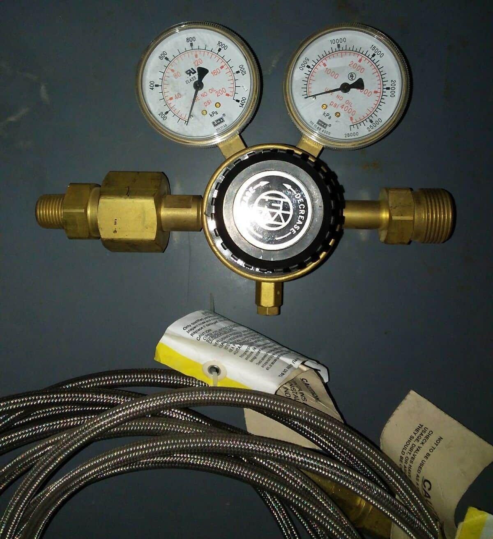 Western Enterprises Innovator Accu-trol Manifold Control w/ Hoses compressed air