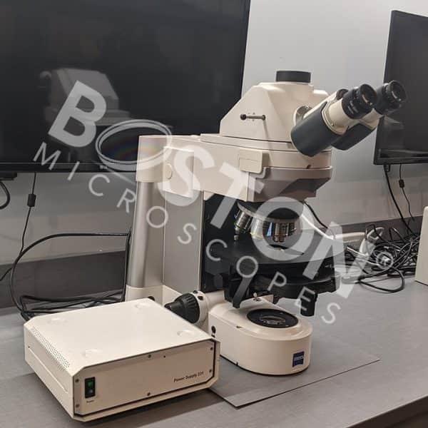 Zeiss Axio Imager M1 Trinocular Upright Microscope