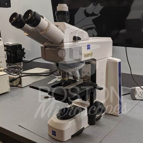 Zeiss Axio Scope A1 Trinocular Upright Microscope