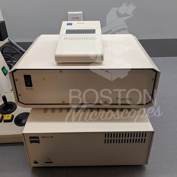 Zeiss Axiovert 200M Trinocular Phase Contrast Fluorescence Inverted Microscope
