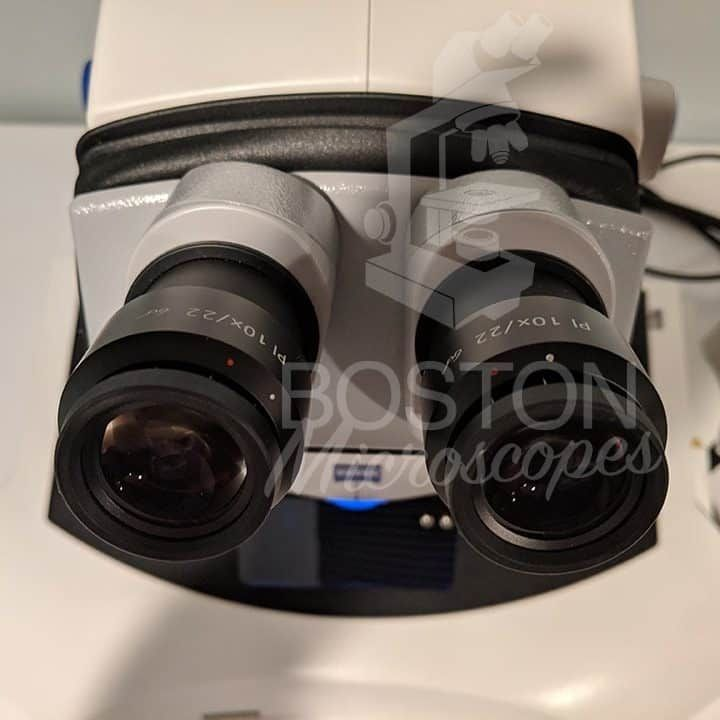 Zeiss Discovery V8 Trinocular Stereo Microscope (Transmitted Light Base)