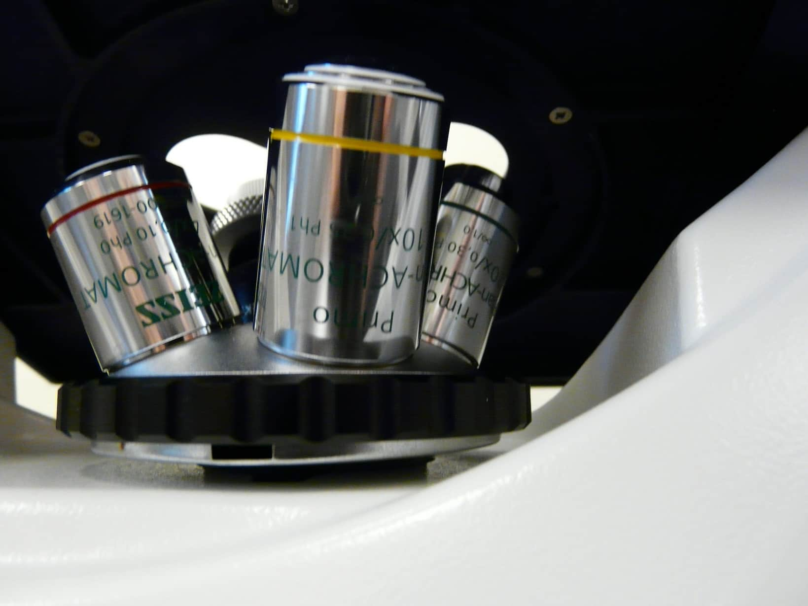 Zeiss Model 370 Inverted Microscope with LCD Screen