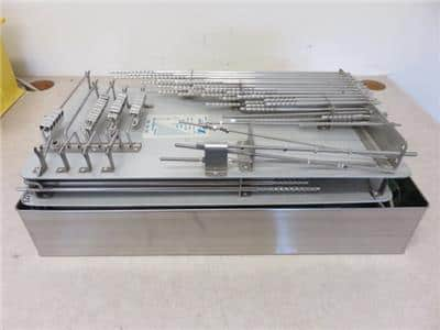 Zimmer 1249 Harrington Rod & Hook Tray Set w/ 1260 Installation Tool- Huge Lot