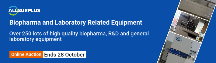 Auction: Biopharma And Laboratory Related Equipment Event 23382