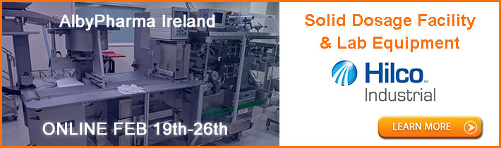 AlbyPharma Ireland: Solid Dosage Plant, Dosage Forms and Packaging Lines