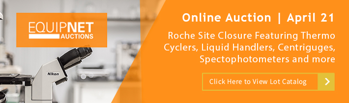 Auction: Roche Site Closure Featuring Laboratory Equipment