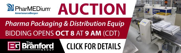Surplus Pharmaceutical Packaging & Distribution Equipment