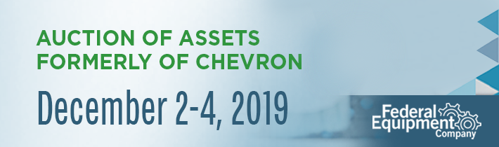 December 2019: Auction of Assets Formerly of Chevron