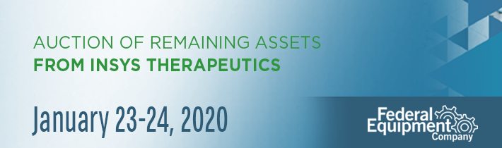 January 2020: Auction of Remaining Assets from Insys Therapeutics