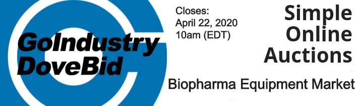 GoIndustry - Online Auction - Biopharma Equipment Market #909