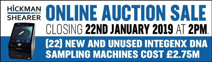 Hickman Shearer Online Auction Event