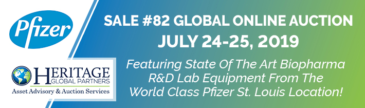 Welcome To The 82nd Sale Featuring State Of The Art Biopharma R&D Lab Equipment From The World's Largest Pharmaceutical Manufacturer!