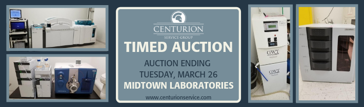Midtown Laboratories Timed Auction