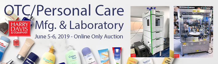 AUCTION: OTC/Personal Care Products Mfg. & Laboratory