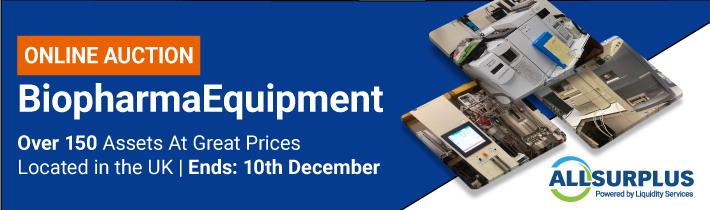 Auction: Biopharma Equipment Market #0479
