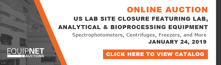 Fish Vet Group Lab Site Closure - Tremendous Offering of Lab Analytical and Bioprocessing Equipment