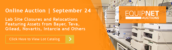 Lab Site Closures and Relocations Featuring Assets from Bayer, Teva, Gilead, Novartis, Intarcia and Others